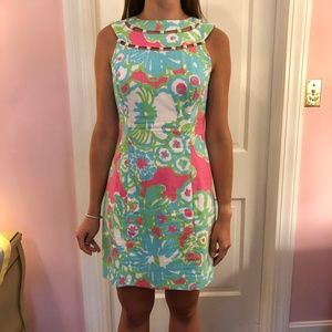 Lilly Pulitzer Lindy Beaded Shift Dress